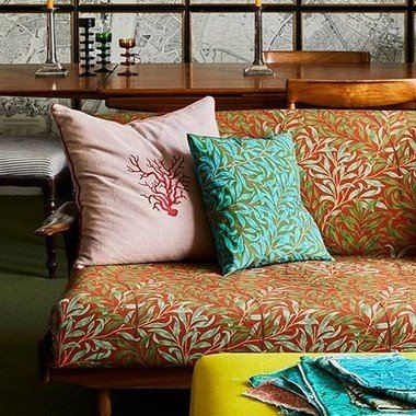 The Queen Square Collection Fabrics By Ben Pentreath