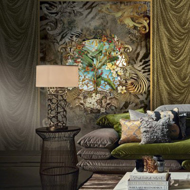 on sale ef1ba c3032 Roberto Cavalli | Buy Wallpaper & Murals Online | Select ...