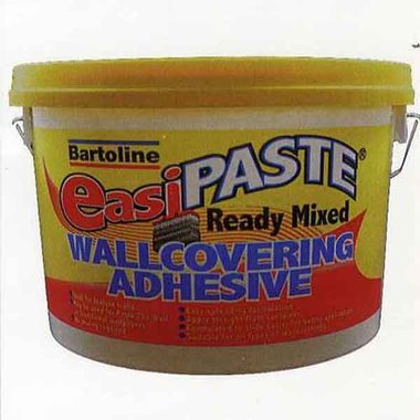 Bartoline EasiPaste Ready Mixed Wallcovering Adhesive 5kg MA10930