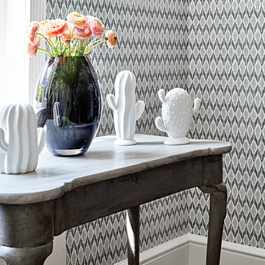 Anna French Balin Ikat Grey AT79136