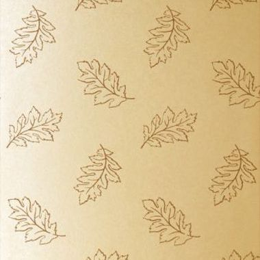Anna French Etched Leaf Brown-Gilver ETCNW063