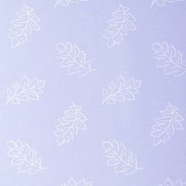 Anna French Etched Leaf White-Pale Blue ETCNW024