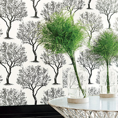 Anna French Winfell Forest Black-White AT6005