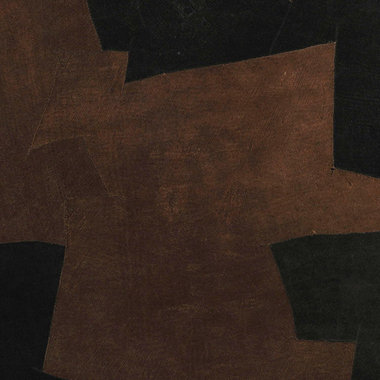 Arte Bark Cloth Black-Brown Bark 3001