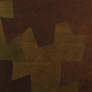 Arte Bark Cloth Green-Brown Bark 3002