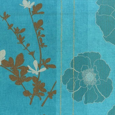 Arthouse Yasmin Floral Turquoise 253406