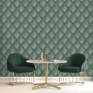 Belgravia Decor Callisto Teal Green GB6001