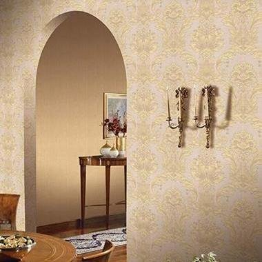 Belgravia Decor Damasco Italiano Gold-Beige GB5864