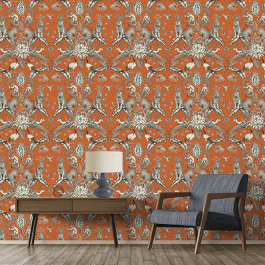 Belgravia Decor Menagerie Orange GB2002