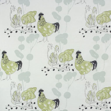 Belynda Sharples Chickens Green BS-LU-CHI-02