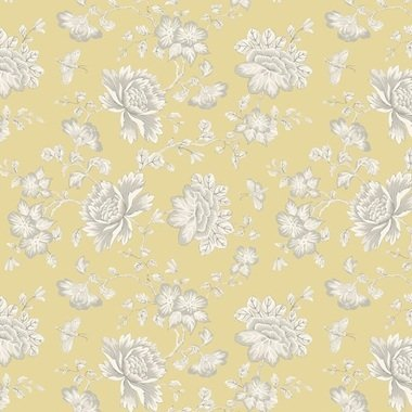 Blendworth Fabled Floral Yellow 002