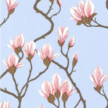 Cole & Son Magnolia Pink-Blue 72-3011