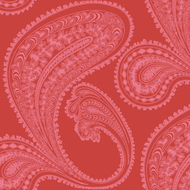 Cole & Son Rajapur Pink-Red 66-5041