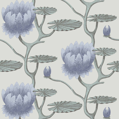 Cole & Son Summer Lily Aqua 95-4024