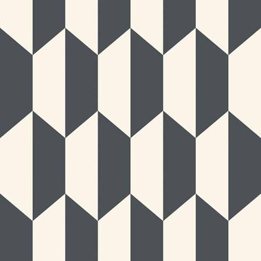 Cole & Son Tile Black-White 105-12050