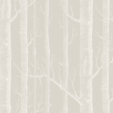 Cole & Son Woods Stone-White 112-3010