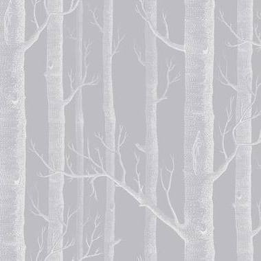 Cole & Son Woods Grey-White 112-3012