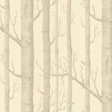 Cole & Son Woods Taupe-Cream 69-12148