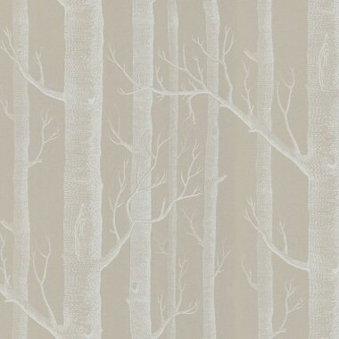 Cole & Son Woods Taupe-White 69-12149