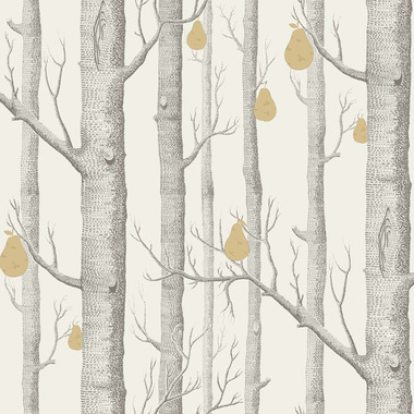 Cole & Son Woods & Pears Grey-Gold 95-5032