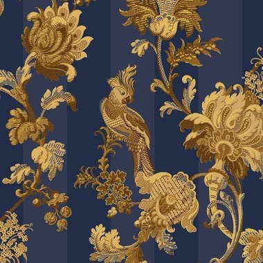 Cole & Son Zerzura Royal Blue-Gold 113-8024