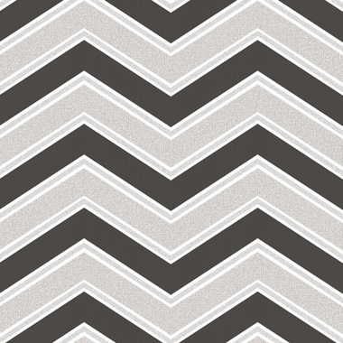 Coloroll Chevron Black M1147