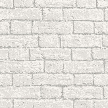 Coloroll Glitter Brick White M1038