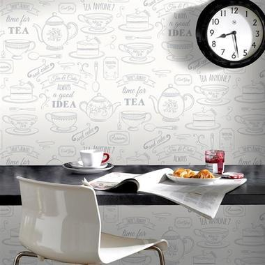 Contour Afternoon Tea White-Silver 33-009