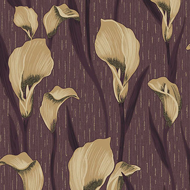 Crown Cala Lily Damson M1098
