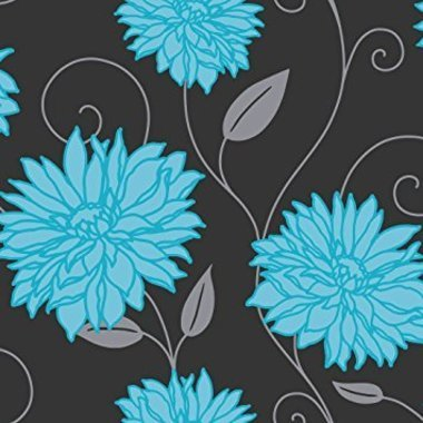 Crown Starflower Aqua M0612