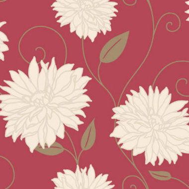 Crown Starflower Red-Cream M0610
