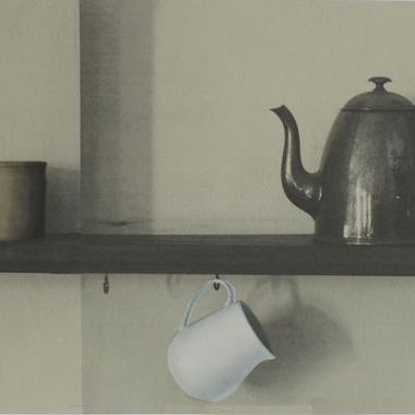 Deborah Bowness Shelf Border Grey