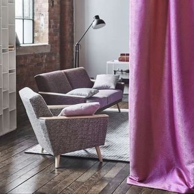 Designers Guild Dunster Graphite FDG2709-01