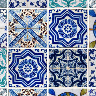 Debbie Mc British Design Lisbon Tile