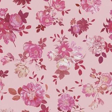 Eijffinger Vintage Flowers Pink 383613