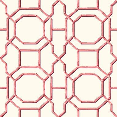 Fine Decor Summer Trellis Coral 2744-24152