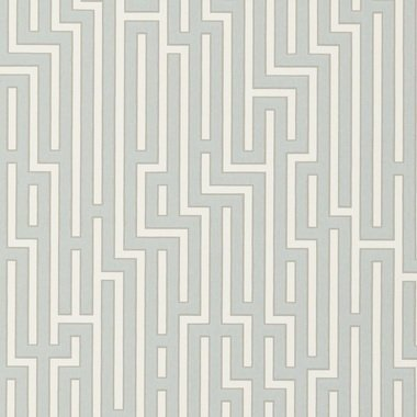 GP & J Baker Fretwork Soft Blue BW45007-7