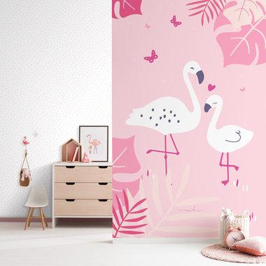 Galerie Pink Flamingo Nd21150 Select Wallpaper