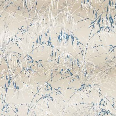 Clarissa Hulse Meadow Grass Gilver-Blue 111408