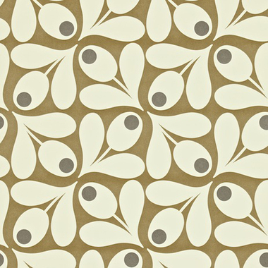 Orla Kiely Acorn Spot Brown Pepper 110418