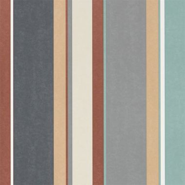Harlequin Bella Stripe Sepia-Copper-Duckegg 111503