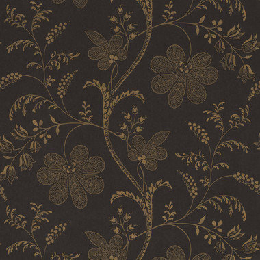 Little Greene Bedford Square Ebony-Gold 0273BEEBONY