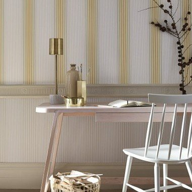 Little Greene Ombre Stripe Scree-Harbour 0286OSSCREE