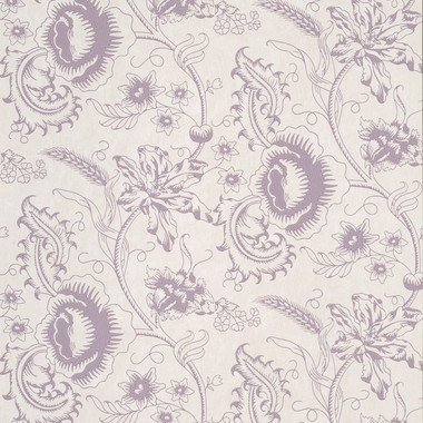 Little Greene Woodblock Mono Plum 0291WOPLUMZ