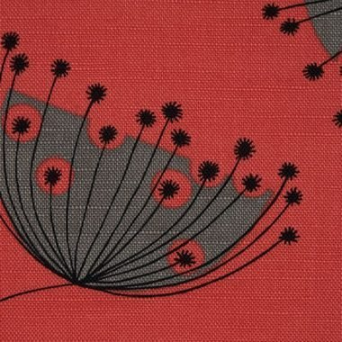 Miss Print Dandelion Mobile Coral With Storm