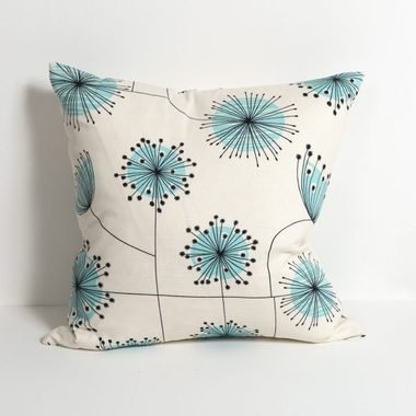 MissPrint Dandelion Mobile Porcelain-Powder Blue CUSH1003