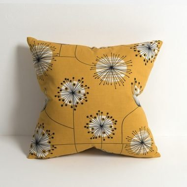 Miss Print Dandelion Mobile Sunflower Yellow with White