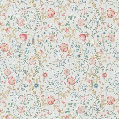 Morris & Co Mary Isobel Pink-Ivory 214728