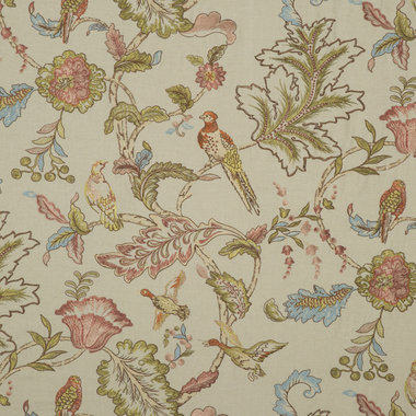 Mulberry Home Early Brids Embroidery Natural FD708-K101
