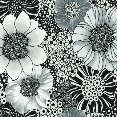 Missoni Home Anemones Black-Metallic 20002
